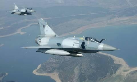 Πτώση αεροσκάφους Mirage 2000 της Πολεμικής Αεροπορίας στις Σποράδες
