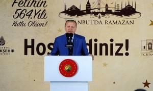 Προκαλεί ο Ερντογάν: Νίκη - παράδειγμα για την ανθρωπότητα η άλωση της Κωνσταντινούπολης (vid)