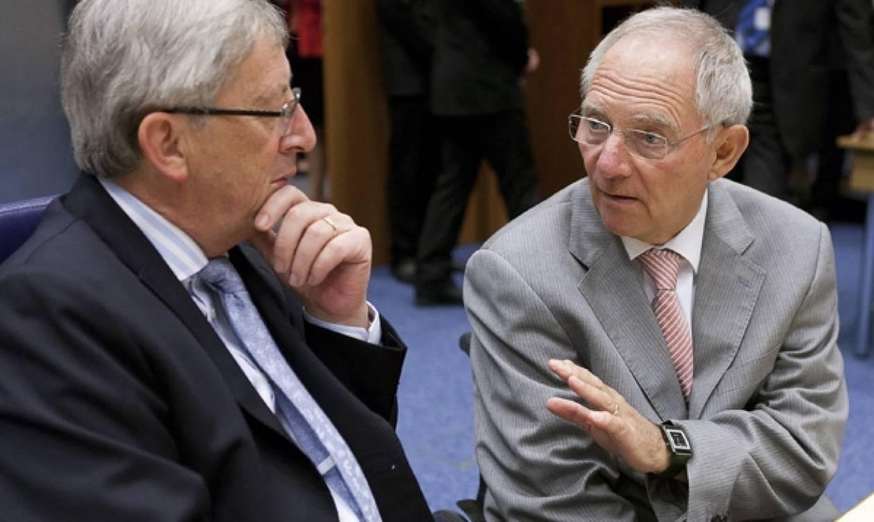 Συνάντηση Σόιμπλε – Γιούνκερ με «μενού» ευρωπαϊκά θέματα