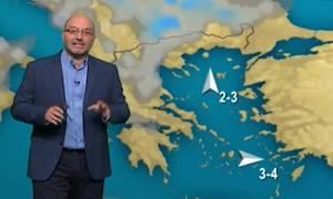 Καιρός: Τι λέει ο Σάκης Αρναούτογλου για το τριήμερο του Αγίου Πνεύματος... (video)
