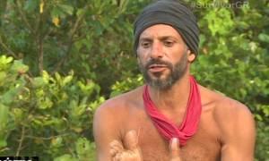 Survivor: Χρανιώτης για τη διαμάχη με τους Μαχητές: «Αισθάνομαι παγωμένος»