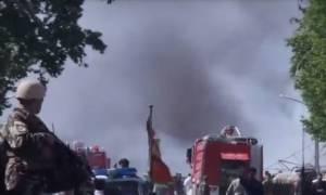 Καμπούλ: Φόβοι για δεκάδες νεκρούς από την ισχυρή έκρηξη κοντά στη γερμανική πρεσβεία
