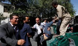 Μακελειό στην Καμπούλ: Φωτογραφίες - σοκ μετά την αιματηρή έκρηξη (ΣΚΛΗΡΕΣ ΕΙΚΟΝΕΣ)