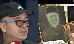 Σταμάτης Γονίδης: «Ο πρώτος μου πίνακας ήταν ο γέροντας Παΐσιος»