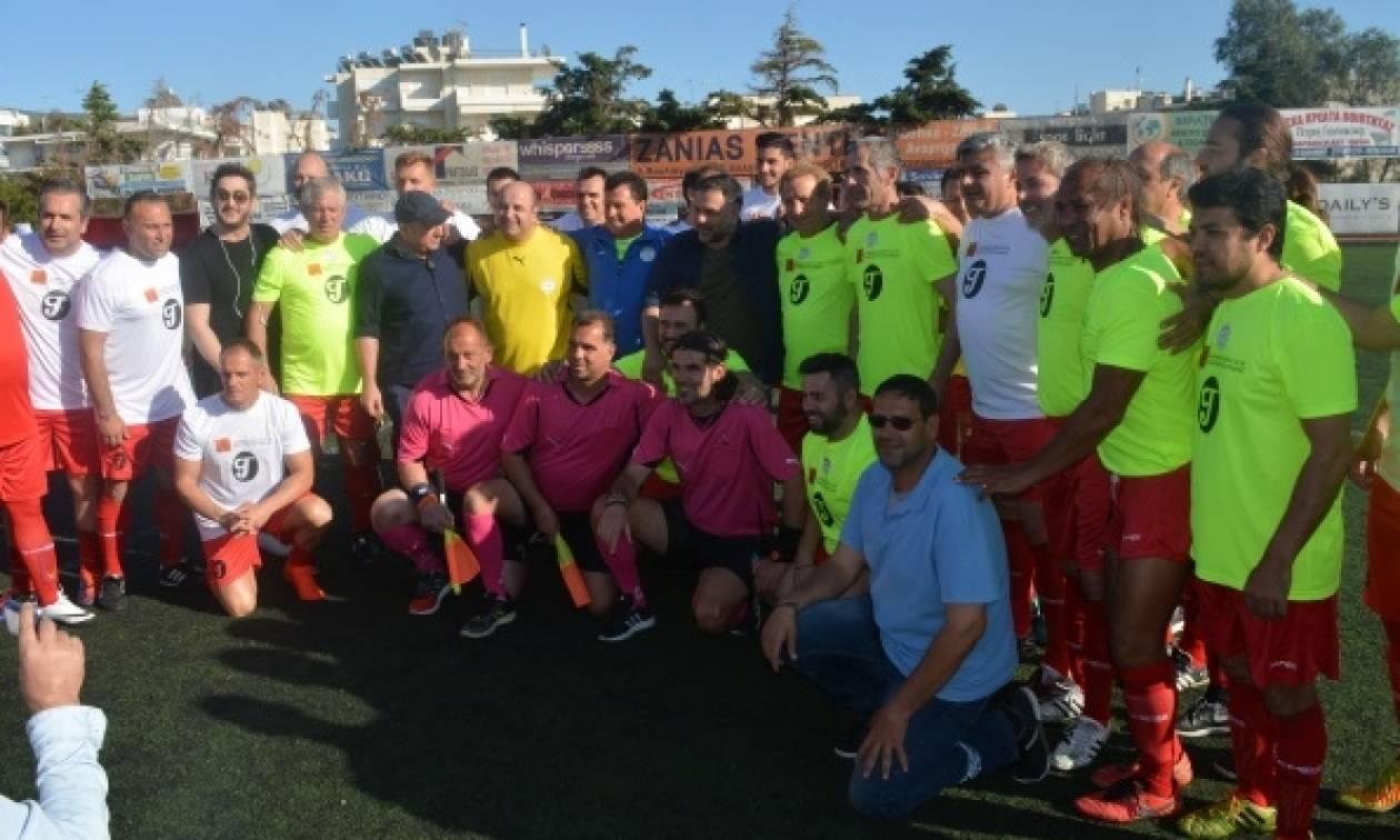 ΙΕΚ ΑΛΦΑ: Βράβευσαν τον Μάρκο Σεφερλή σε φιλανθρωπικό αγώνα για τη σκλήρυνση κατά πλάκας
