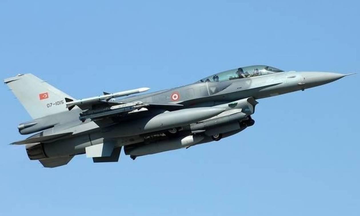 Νέα τουρκική πρόκληση: Μαχητικά έκαναν υπερπτήση στο Αιγαίο