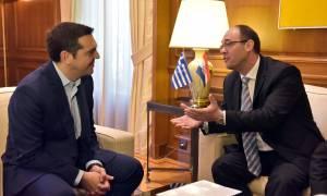 Συνάντηση Τσίπρα με τον αντιπρόεδρο της κροατικής κυβέρνησης (pics)