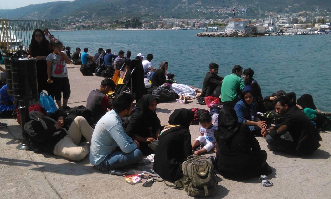 Απόβαση μεταναστών στην Ελλάδα