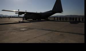 Κηδεία Μητσοτάκη:  Ανυπόστατες οι φήμες για τεχνικό πρόβλημα του C -130 που μετέφερε τη σορό