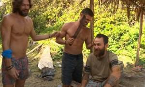 Survivor: Οι Μαχητές κουρεύονται με την ματσέτα!