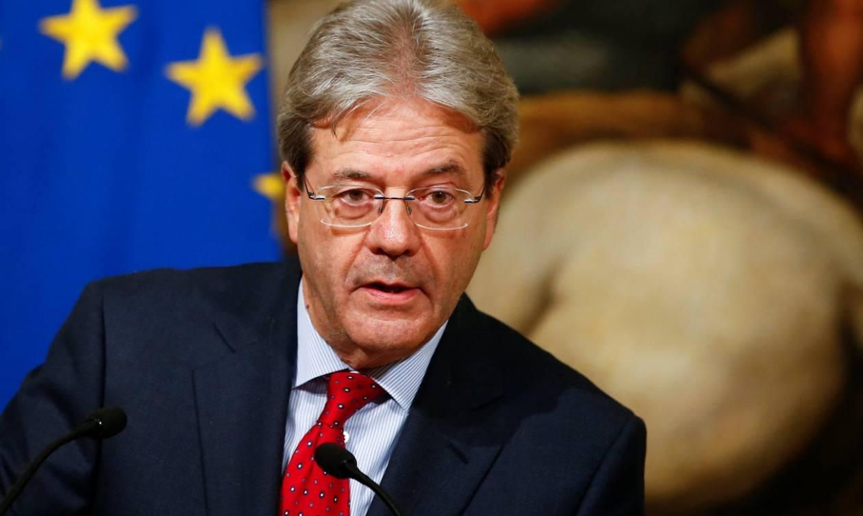 Ιταλία: Ψήφος εμπιστοσύνης στην κυβέρνηση Τζεντιλόνι