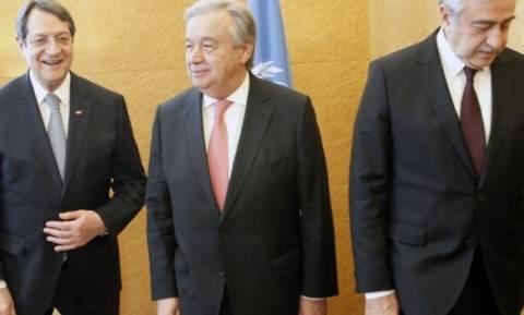 Анастасиадис и Акынджи проведут переговоры в Нью-Йорке