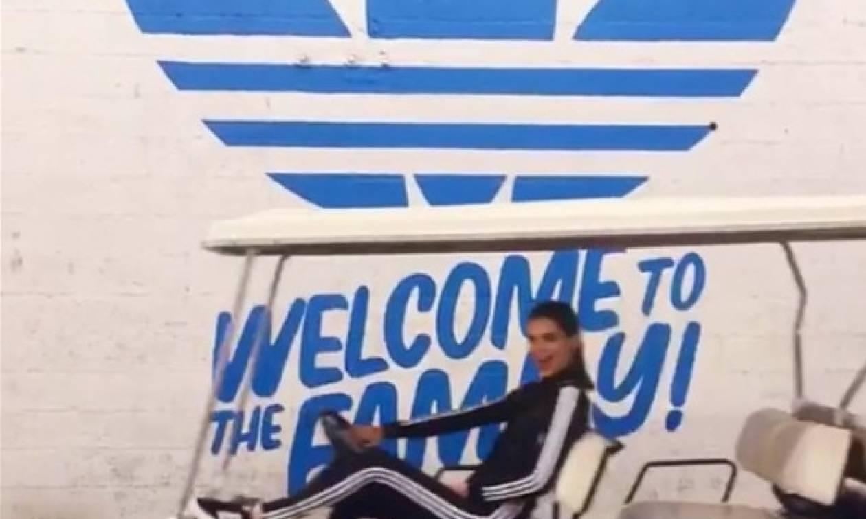 Αυτό είναι το νέο κορίτσι της Adidas!