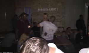 Επίθεσεις Λονδίνο: Τουλάχιστον δύο άνθρωποι μαχαιρώθηκαν μέσα σε εστιατόριο στην Αγορά Μπόροου