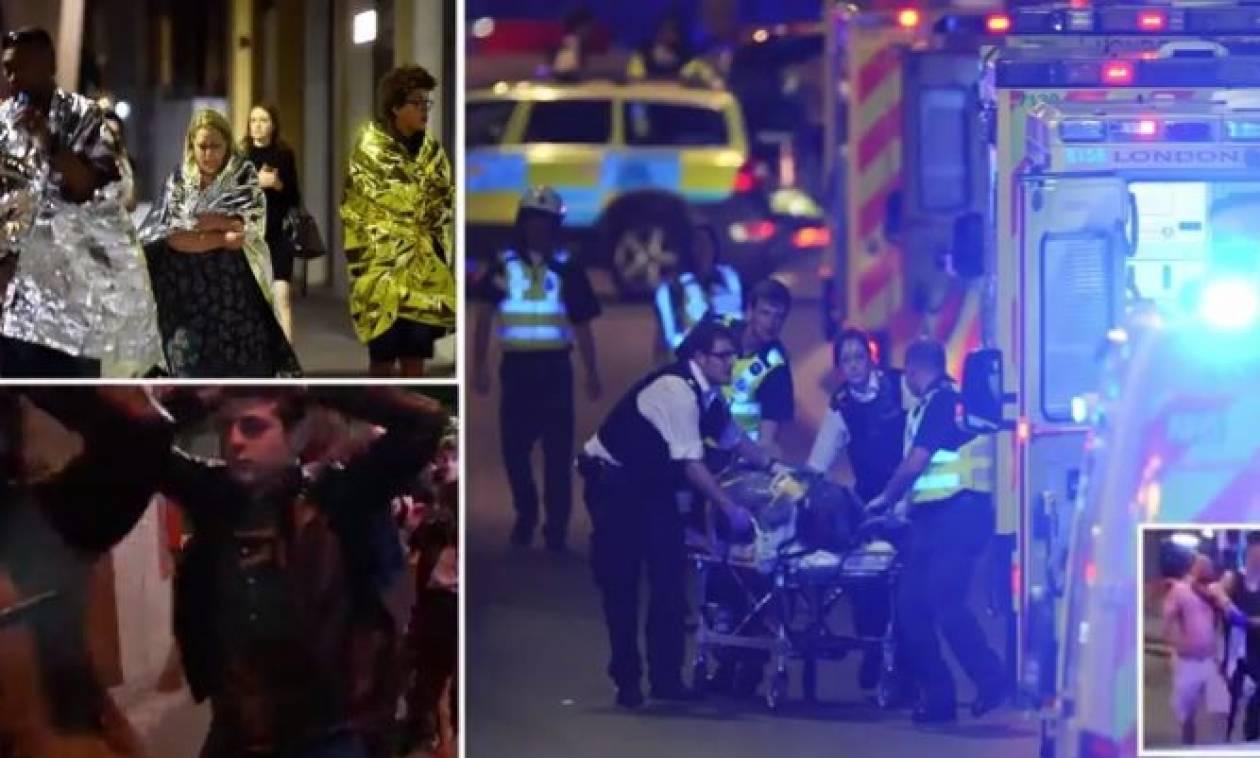 Τρόμος στο Λονδίνο με έξι νεκρούς: Έσφαζαν κόσμο στο όνομα του Αλλάχ (pics + videos)