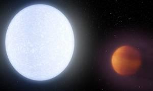 Διάστημα: Ανακαλύφθηκε ο πιο καυτός γιγάντιος εξωπλανήτης