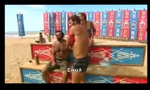 Survivor: Μυθικός πανηγυρισμός... Οι Διάσημοι φωνάζουν... «Σπαλ» και ο Σπαλιάρας νικάει (video)