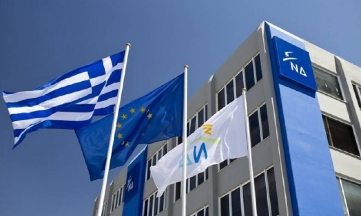 Νέα Δημοκρατία προς ΣΥΡΙΖΑ: Ο Τσίπρας ψάχνει δήθεν συναίνεση