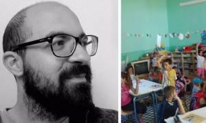 Ο νεαρός δάσκαλος που έφτιαξε ένα αλλιώτικο σχολείο στο ορεινό Ρέθυμνο (pics + vids)