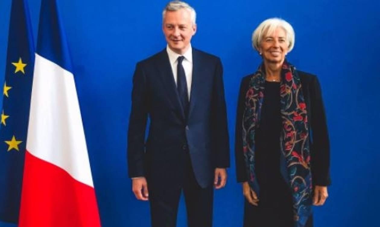Τετ α τετ Λαγκάρντ-Γάλλου ΥΠΟΙΚ με θέμα την Ελλάδα