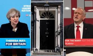 Εκλογές Βρετανία: Κόρμπιν: «Παραιτήσου» - Μέι: «Η Βρετανία έχει ανάγκη από σταθερότητα» (videos)