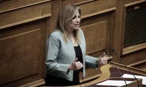 Γεννηματά: Ο αυτοεξευτελισμός για Τσίπρα και ΣΥΡΙΖΑ - ΑΝΕΛ δεν έχει όρια