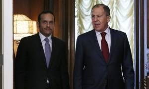 Λαβρόφ: Θα συνεχίσουμε το διάλογο με το Κατάρ