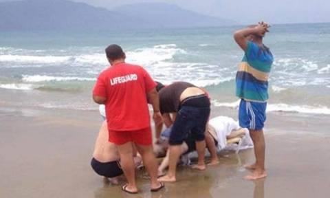 Αποκλειστικό βίντεο από τις προσπάθειες να σώσουν τον άτυχο άντρα στον Πρωταρά - Κύπριος ο νεκρός