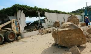 Σεισμός Μυτιλήνη: Αυτό είναι το ρήγμα νότια του Πλωμαρίου (pic)