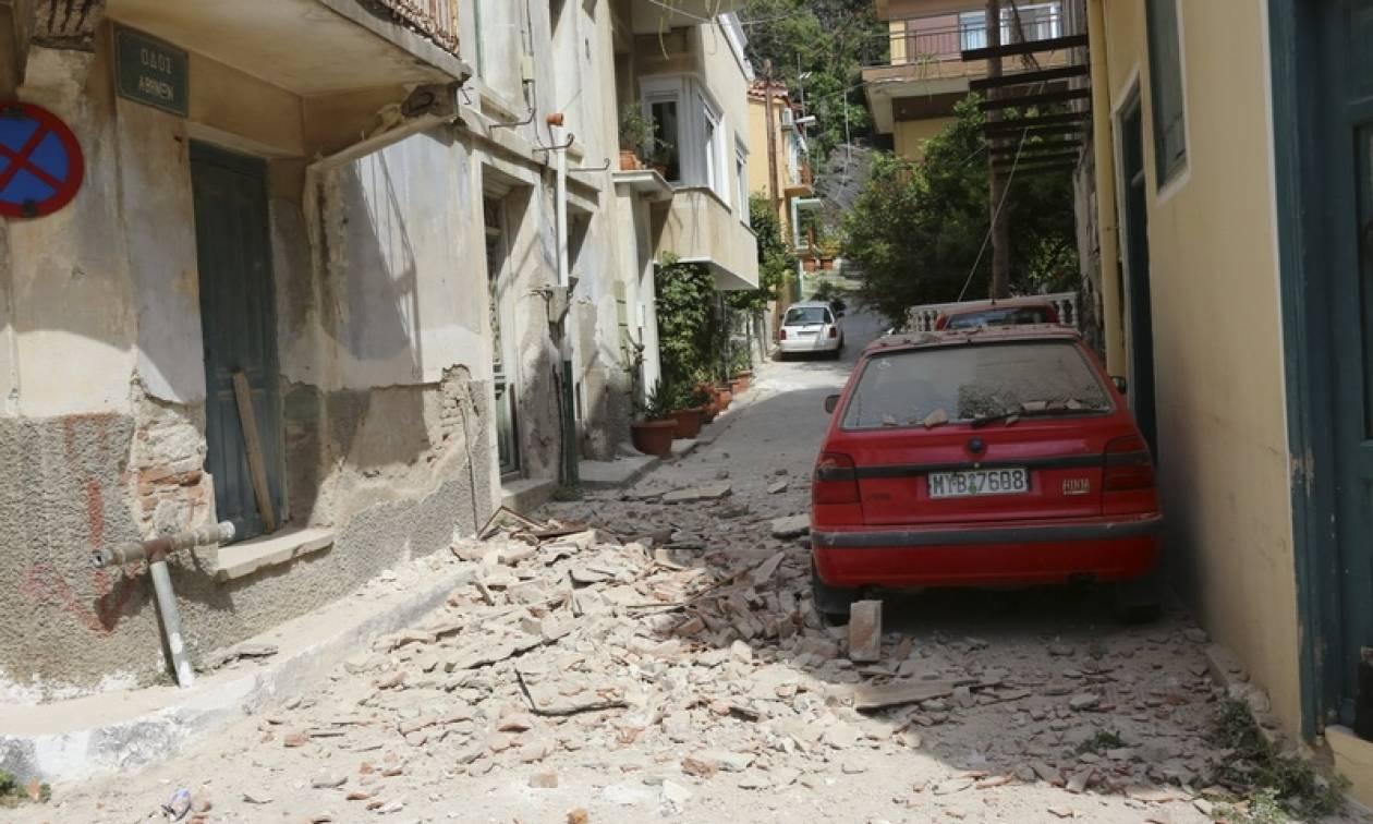 Σεισμός Μυτιλήνη: Η ανακοίνωση της Πυροσβεστικής για το θάνατο της 43χρονης