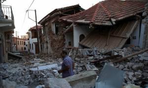 Φονικός σεισμός στη Μυτιλήνη: Μια γυναίκα νεκρή και τεράστιες καταστροφές - Εκκενώθηκε η Βρίσα