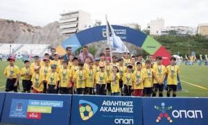 Φεστιβάλ Αθλητικών Ακαδημιών ΟΠΑΠ: Δυναμικό «παρών» από 9.000 παιδιά στις 10 γιορτές του αθλητισμού