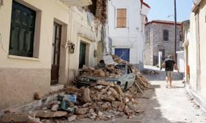 Σεισμός Μυτιλήνη - Σπίρτζης: Από τα 254 σπίτια που ελέγχθηκαν τα 150 έχουν κριθεί ακατοίκητα
