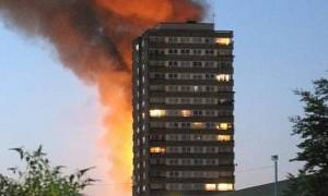 Φωτιά Λονδίνο: Εικόνες 11ης Σεπτεμβρίου - Άνθρωποι έπεφταν από τα παράθυρα για να σωθούν (pics)