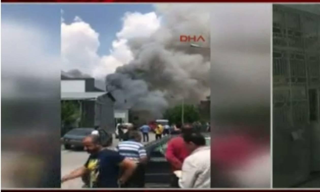Ισχυρή έκρηξη στην Άγκυρα με δυο νεκρούς