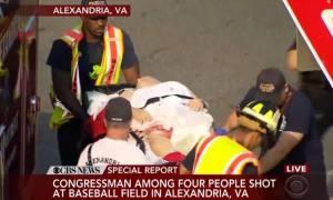 ΗΠΑ: Πυρ κατά μελών του Κογκρέσου σε γήπεδο μπέιζμπολ