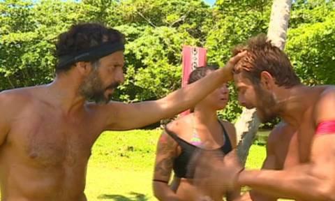 """Survivor: Η χειρονομία του Χρανιώτη στον Ντάνο και οι φωνές: """"Ηρέμησε..."""""""