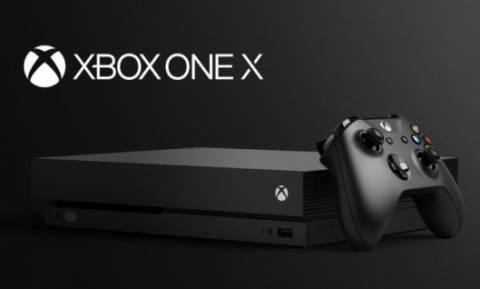 Το νέο Xbox One X εντυπωσιάζει με τα εξελιγμένα χαρακτηριστικά του