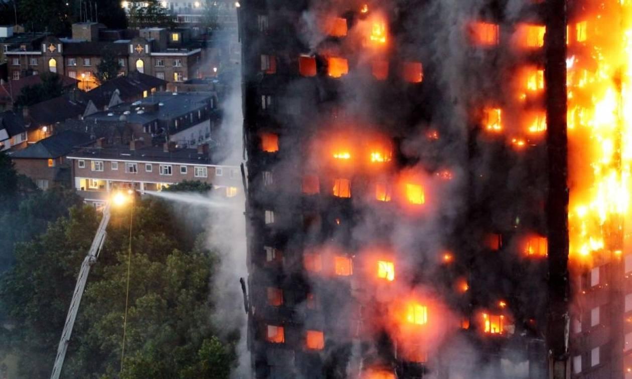 Πυρκαγιά Λονδίνο: Αυξάνεται ο αριθμός των νεκρών στο Grenfell Tower