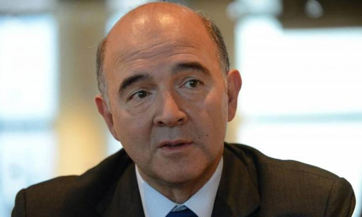 Μοσκοβισί στους Financial Times: Απαραίτητη η συμφωνία για την Ελλάδα στο Eurogroup