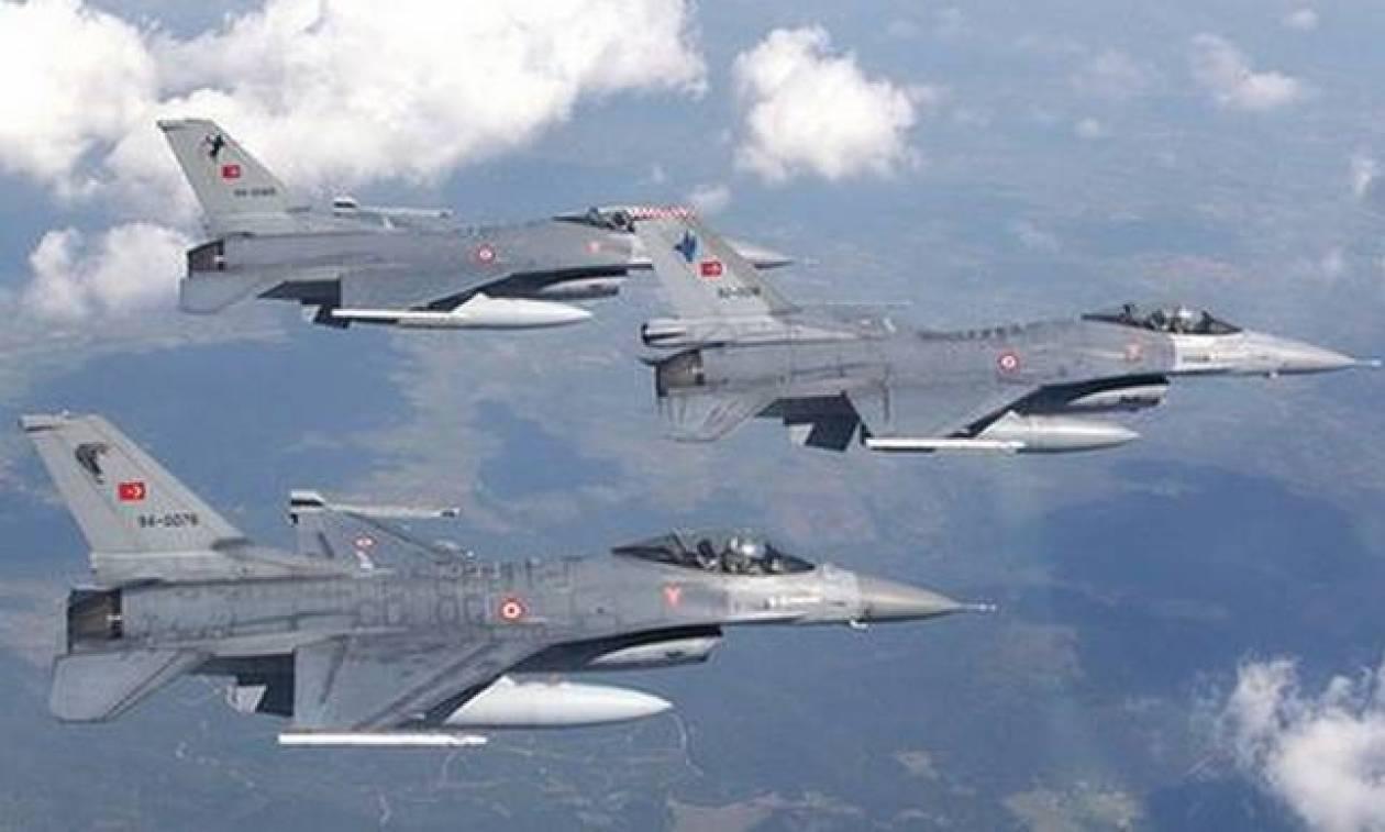 Συναγερμός στο Αιγαίο: Νέο κύμα παραβιάσεων με αερομαχίες από τουρκικά μαχητικά
