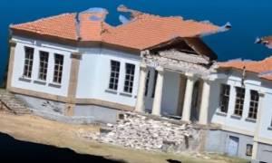 Σεισμός Μυτιλήνη- Βρίσα: Τρισδιάστατη χαρτογράφηση της πληγείσας περιοχής (vid)
