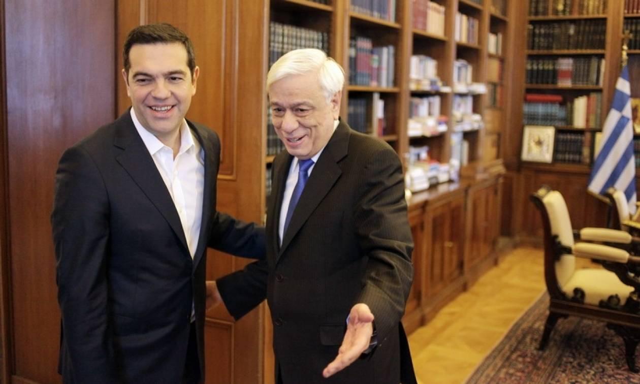 Στον Πρόεδρο της Δημοκρατίας το πρωί της Παρασκευής ο Αλέξης Τσίπρας