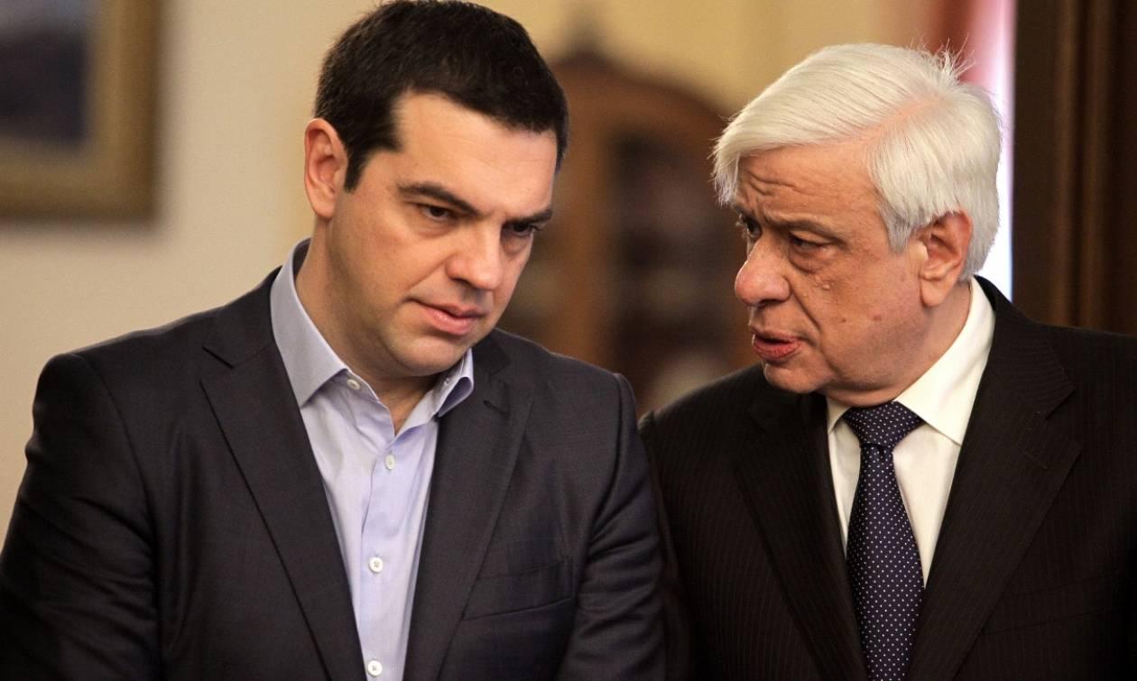 Στον Πρόεδρο της Δημοκρατίας ο Τσίπρας - Θα τον ενημερώσει για το Eurogroup