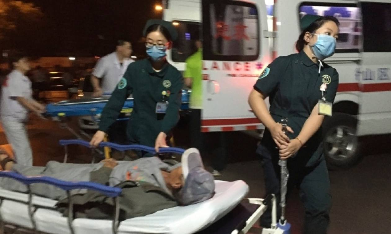 Σε βόμβα οφείλεται η φονική έκρηξη σε νηπιαγωγείο στην Κίνα (ΠΡΟΣΟΧΗ! ΣΚΛΗΡΕΣ ΕΙΚΟΝΕΣ)