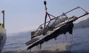 Πτώση Mirage 2000: Ολοκληρώθηκε η επιχείρηση ανέλκυσης - Τι δείχνουν τα ευρήματα  (pics+vid)