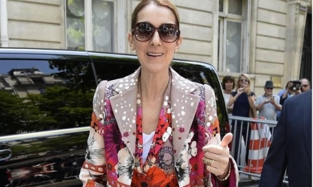 Αυτή και αν ήταν εντυπωσιακή... άφιξη της Σελίν Ντιόν στο Παρίσι!