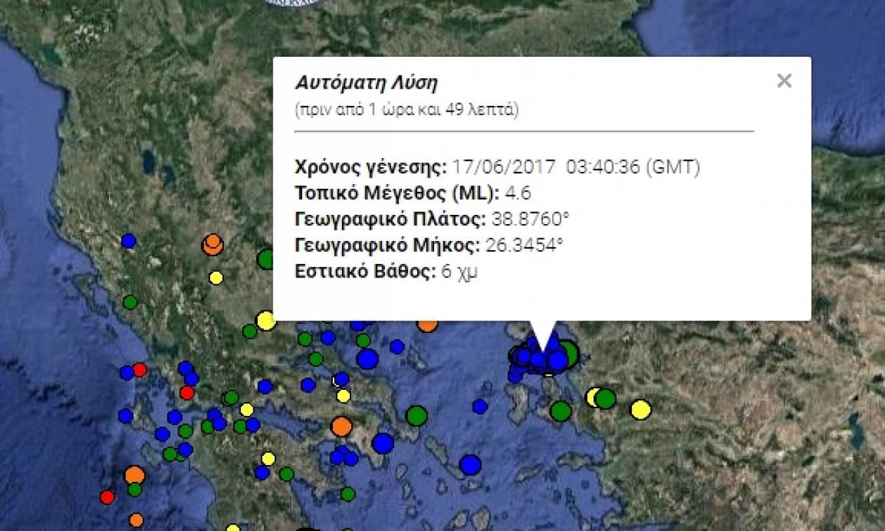 Σεισμός Μυτιλήνη: 4,7 Ρίχτερ ταρακούνησαν το νησί