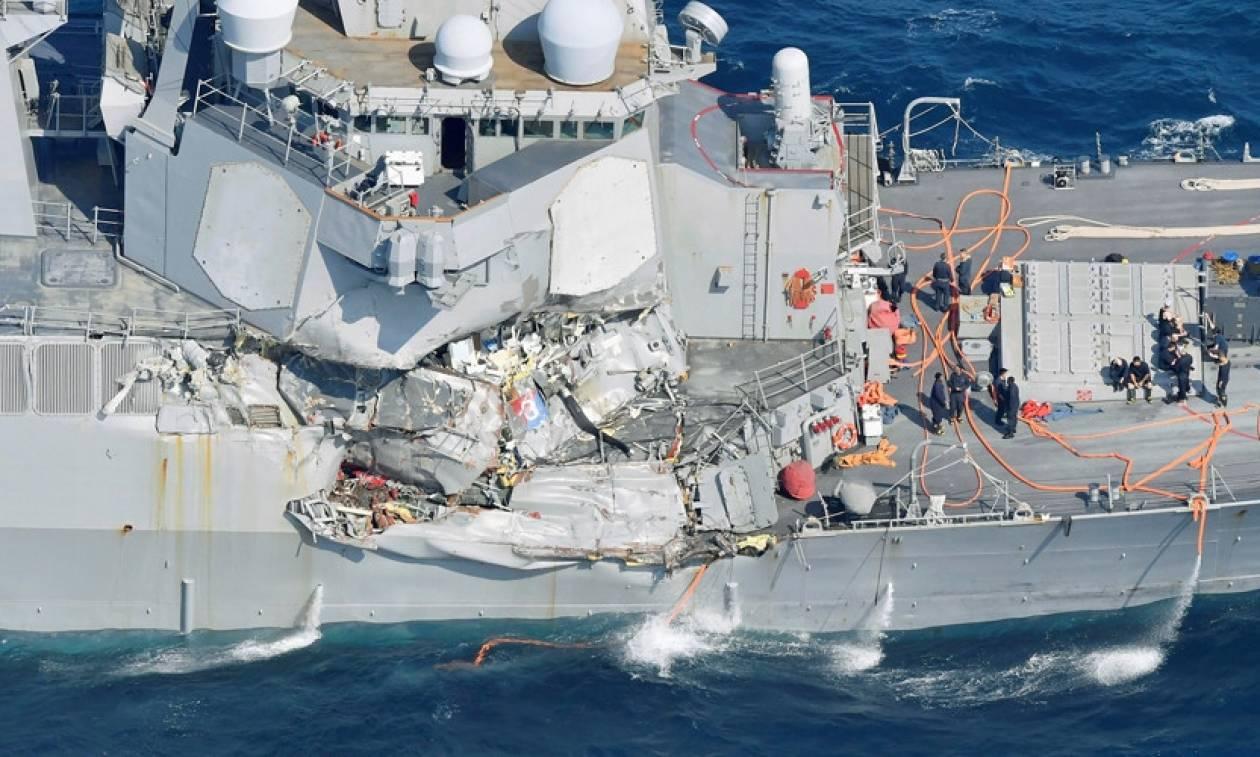 Ιαπωνία: Νεκροί οι 7 ναύτες που αγνοούνταν μετά τη σύγκρουση αμερικανικού αντιτορπιλικού με πλοίο