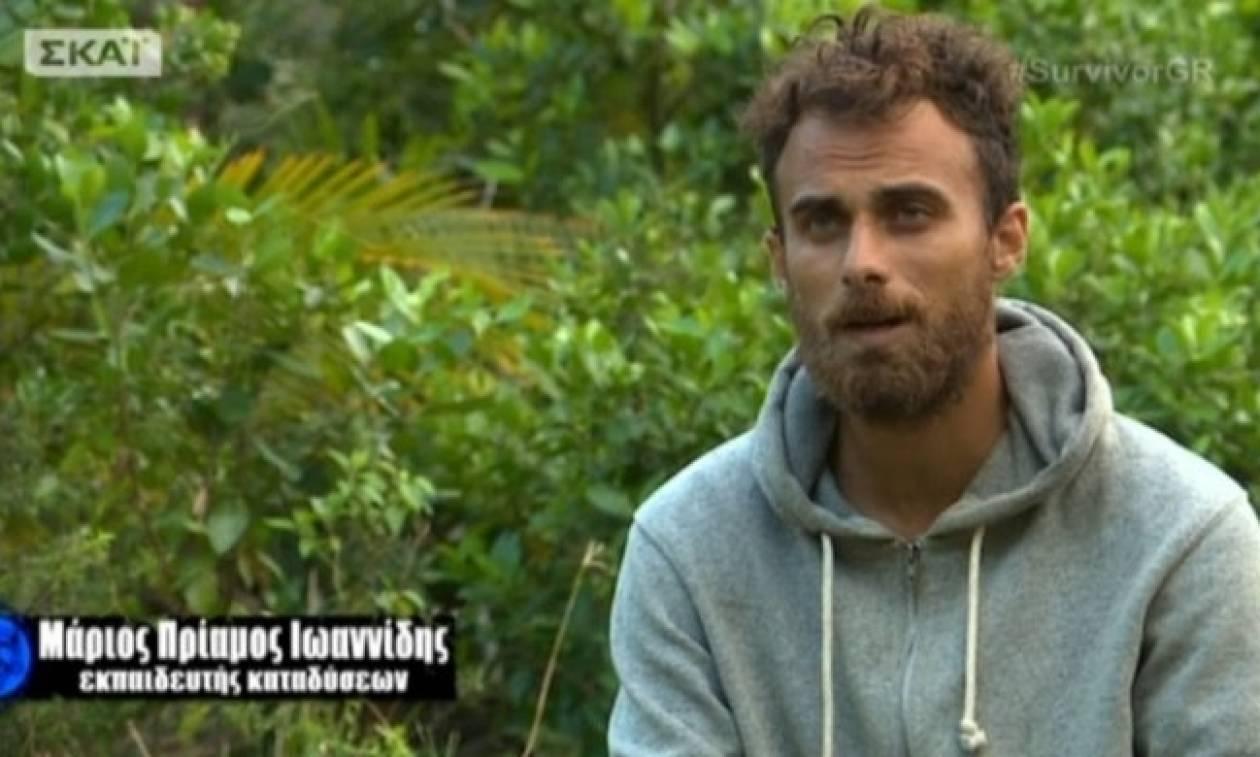 Survivor - Απίστευτη ατάκα Μάριου Πρίαμου για τη δυάδα: «Ας μην έχαναν ασυλίες»